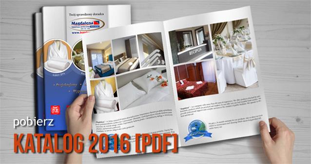 Najnowszy katalog hotelowy firmy PPHU Magdalena Lesław Chwałek